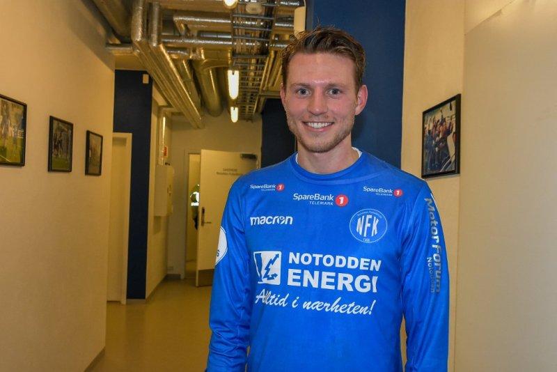 NY KONTRAKT: Even Parkstad Johansen har signert ny kontrakt. Foto: Telen.no